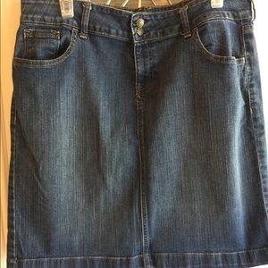 Denim skirt by Old Navy size 14